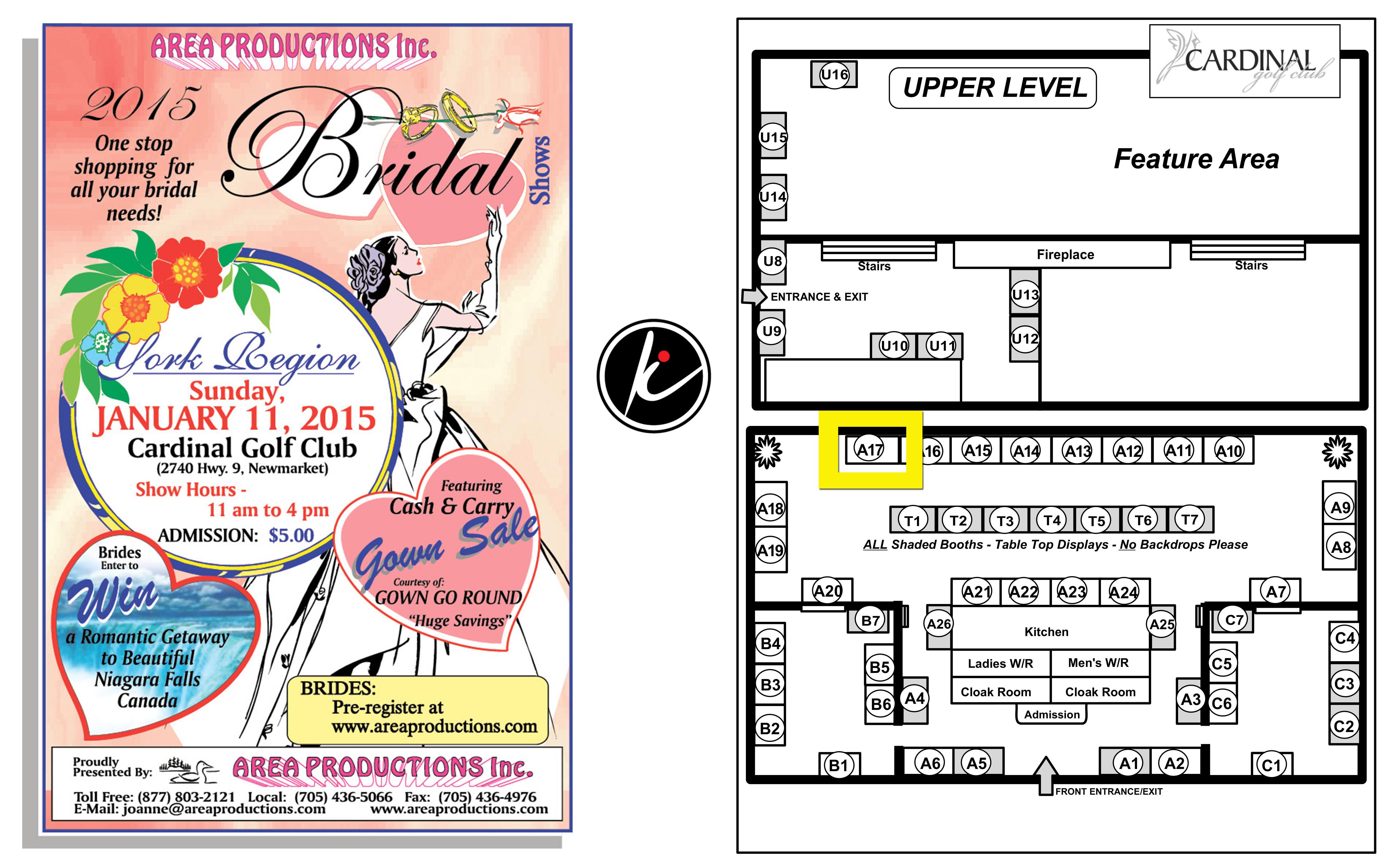 Newmarket bridal show